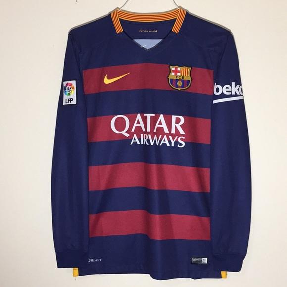 482e1db7c Nike Shirts | Fc Barcelona Soccerfootball Jersey | Poshmark